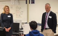 State Representative Lori Mizgorski and PA Speaker of the House Mike Turzai answers questions for The Oracle staff