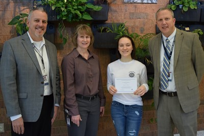 Bartosh recognized as finalist for National Merit Scholarship