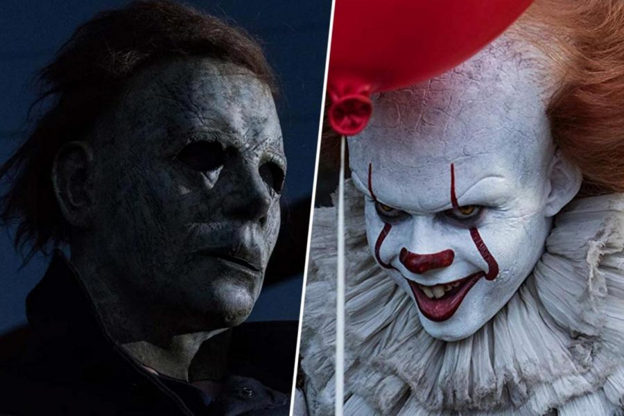 Battle of Bad Guys -- Michael Myers vs Pennywise