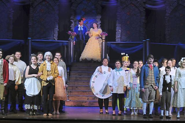 Shaler+Area+performed+the+musical+%22Beauty+and+the+Beast%22+in+2019.