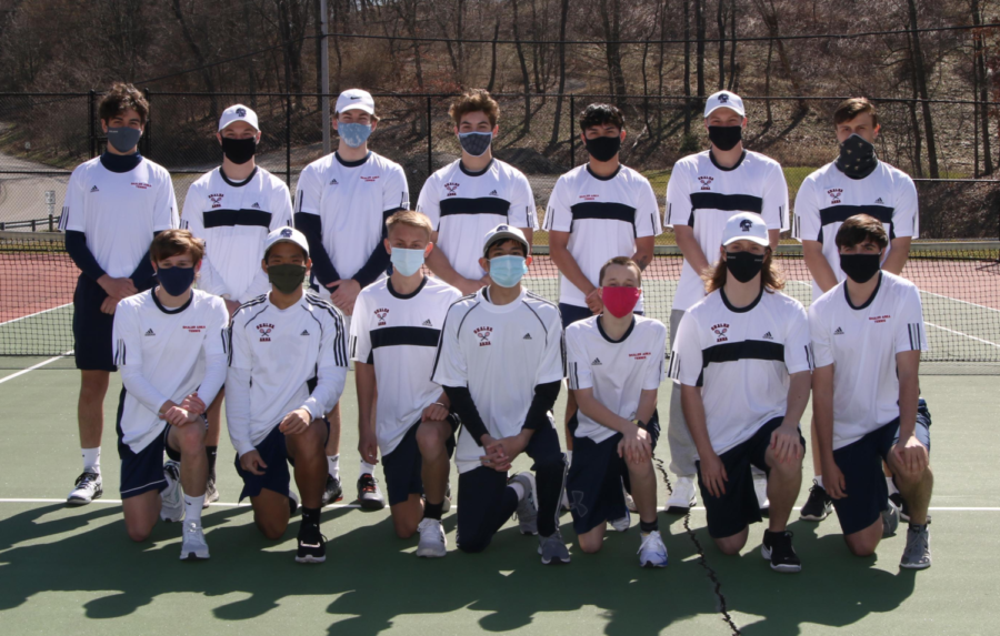 Tennis team has success collectively and individually